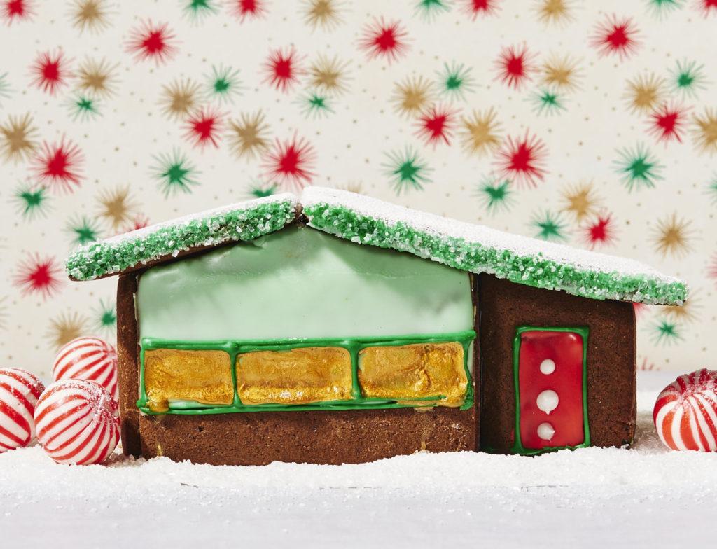 GFF Midcentury Modern Gluten-Free Gingerbread House Pattern