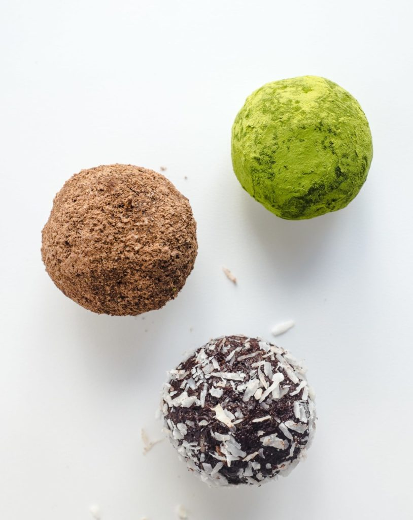 Gluten Free Chocolate-Coconut Truffles Recipe