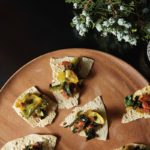 Gluten-Free Appetizer: Indian Spiced Greens on Papads Recipe
