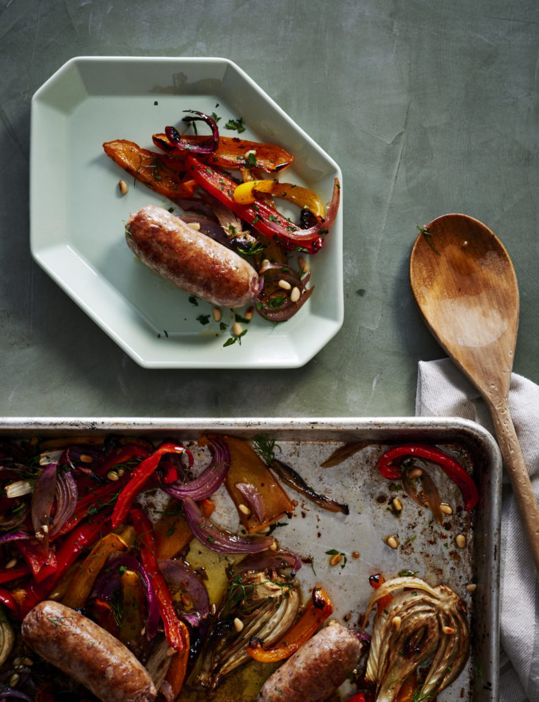 Roasted Sausage, Peppers, and Fennel Gluten-Free Recipe