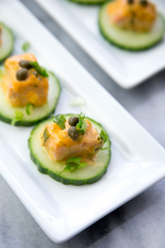KC Cornwell's Gluten-Free Salmon Dynamite Recipe
