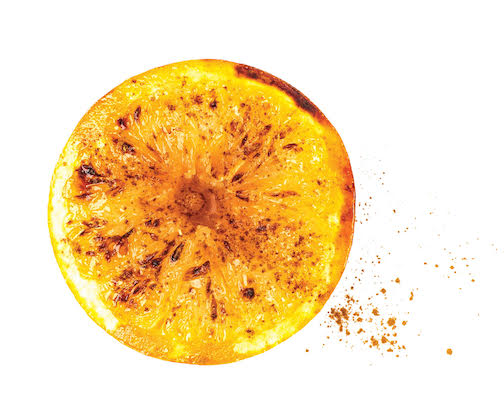 Brûléed Grapefruit