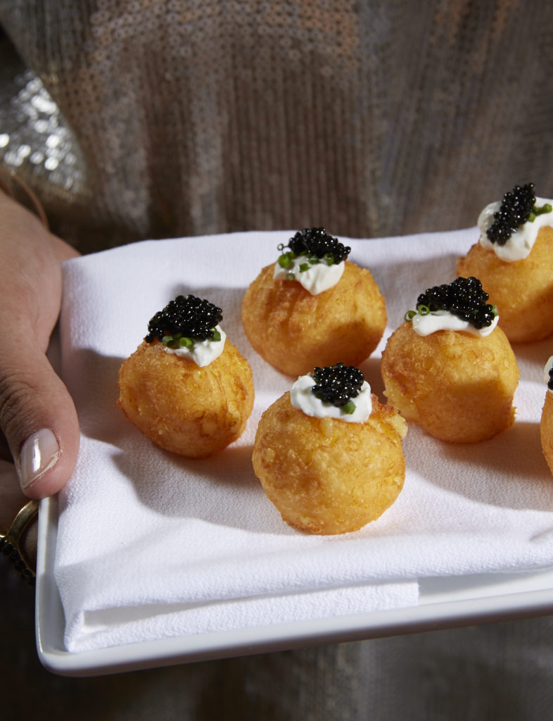 Gluten-Free Cheddar Cheese Potato Puffs Appetizer Recipe