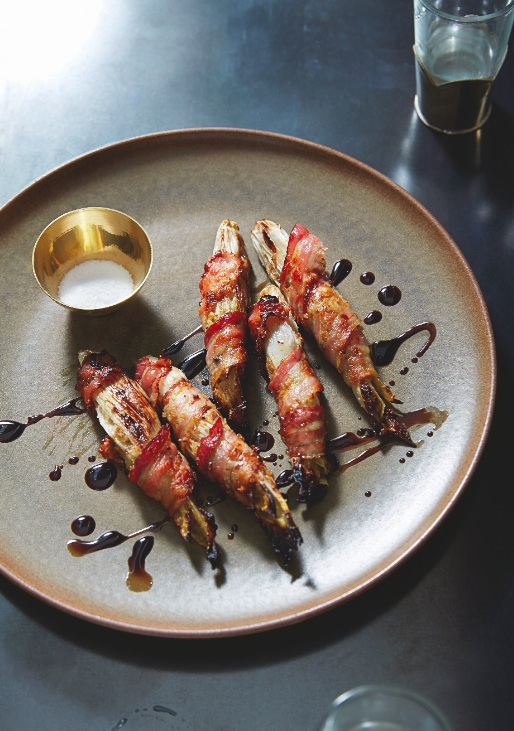 Gluten-Free Pancetta-Wrapped Endive with Anchovy and Saba Recipe