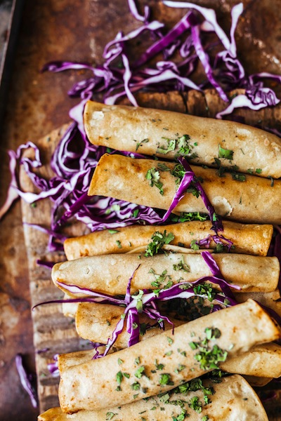 vegan taquitos