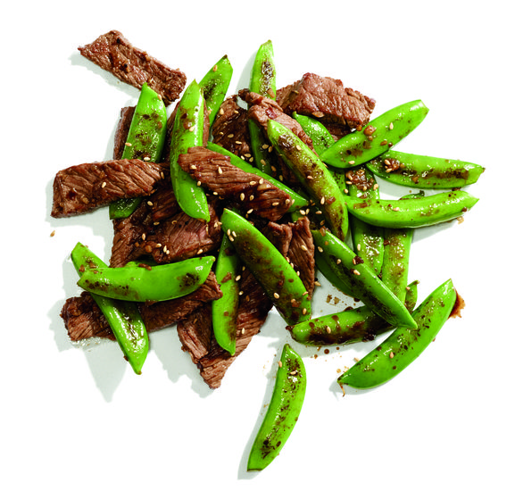 Gluten-Free Seared Five-Spice Steak and Snap Peas Recipe