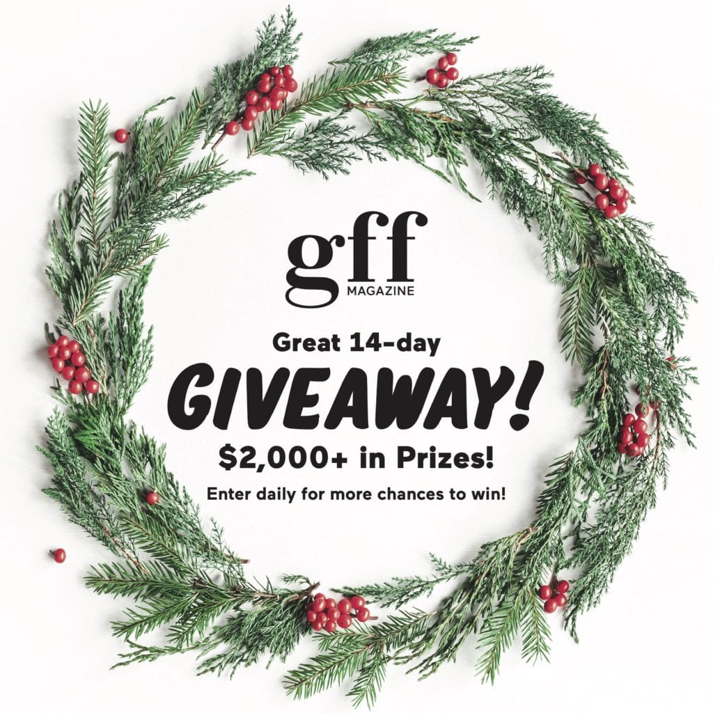 GFF Magazine's Great 14-Day Giveaway 2018