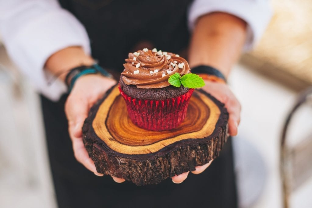 Chocolate Quinoa Cupcakes with Chocolate-Mint Frosting Gluten-Free Recipe