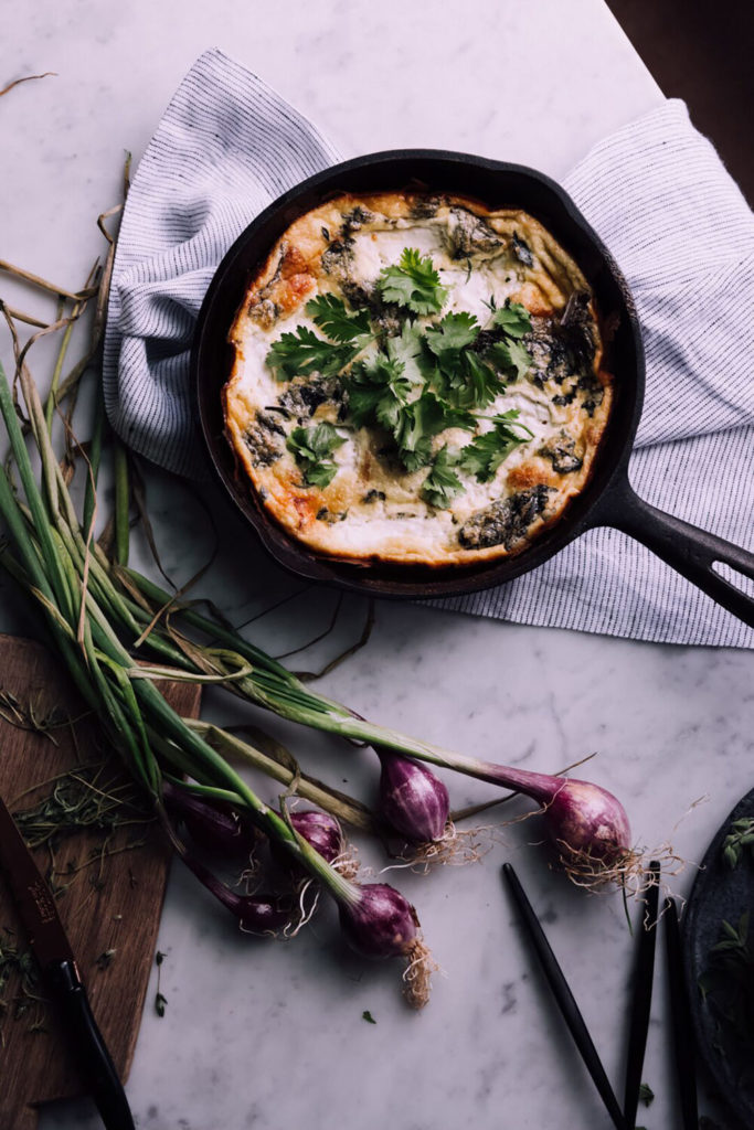 Caramelized Onion and Pancetta Frittata Gluten-Free Recipe