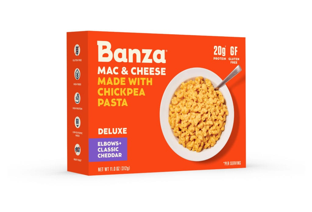 Product Review: Banza Chickpea Pasta Mac and Cheese Deluxe Rich and Creamy Cheddar
