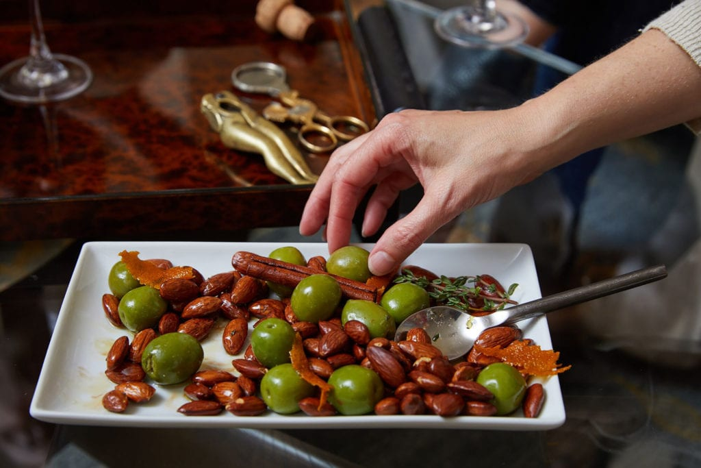 Holiday-Spiced Olives and Roasted Almonds with Thyme Gluten-Free Recipe
