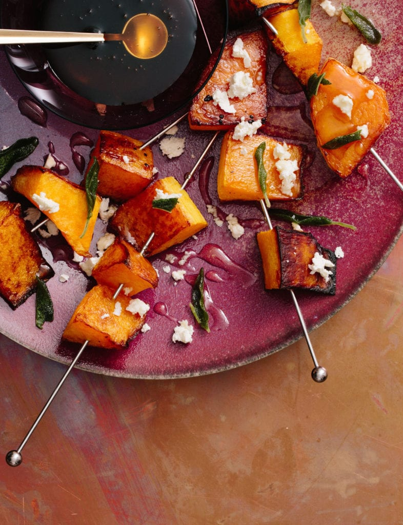 Roasted Squash with Feta, Honey, and Fried Sage Gluten-Free Recipe