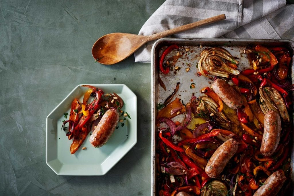 Gluten-Free Roasted Sausage, Peppers, and Fennel Recipe
