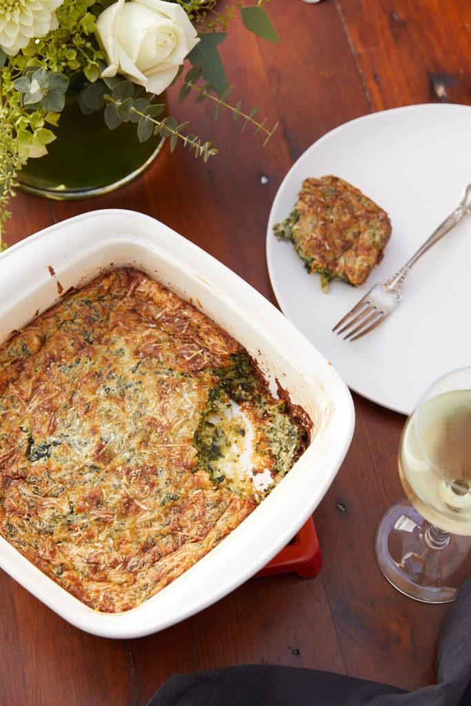 Spinach Soufflé Gluten-Free Recipe