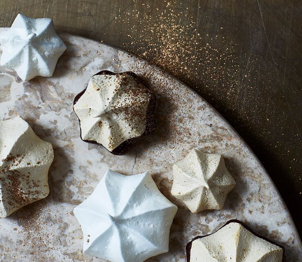 Almond Meringue Cookies Recipe