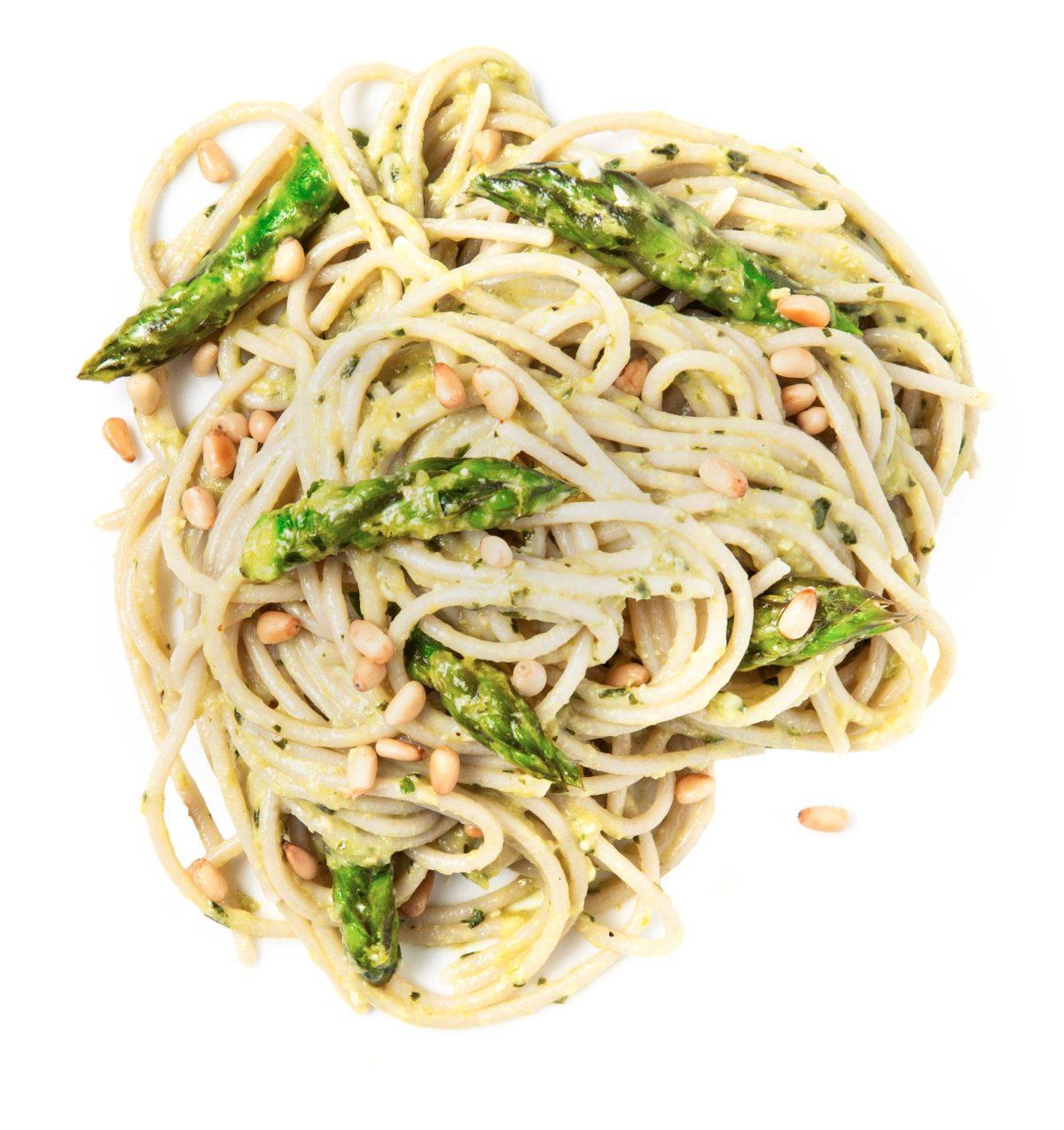 Asparagus Pesto Pasta Gluten Free
