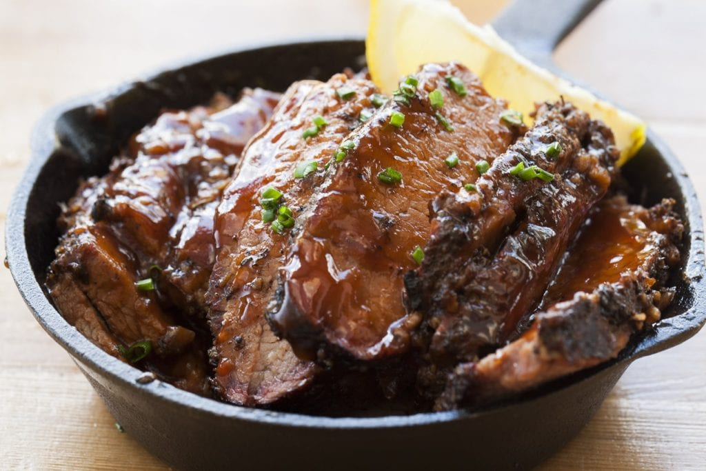 barque gluten free restaurant brisket