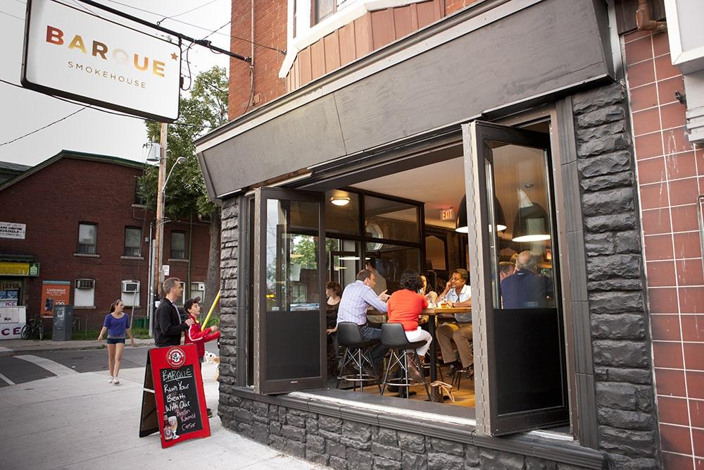 Barque gluten free Toronto barbecue