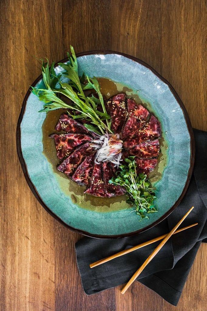 Gluten Free Beef Tataki