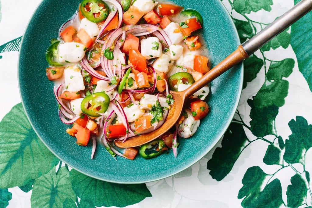 Ceviche: Gluten Free Fish Meal