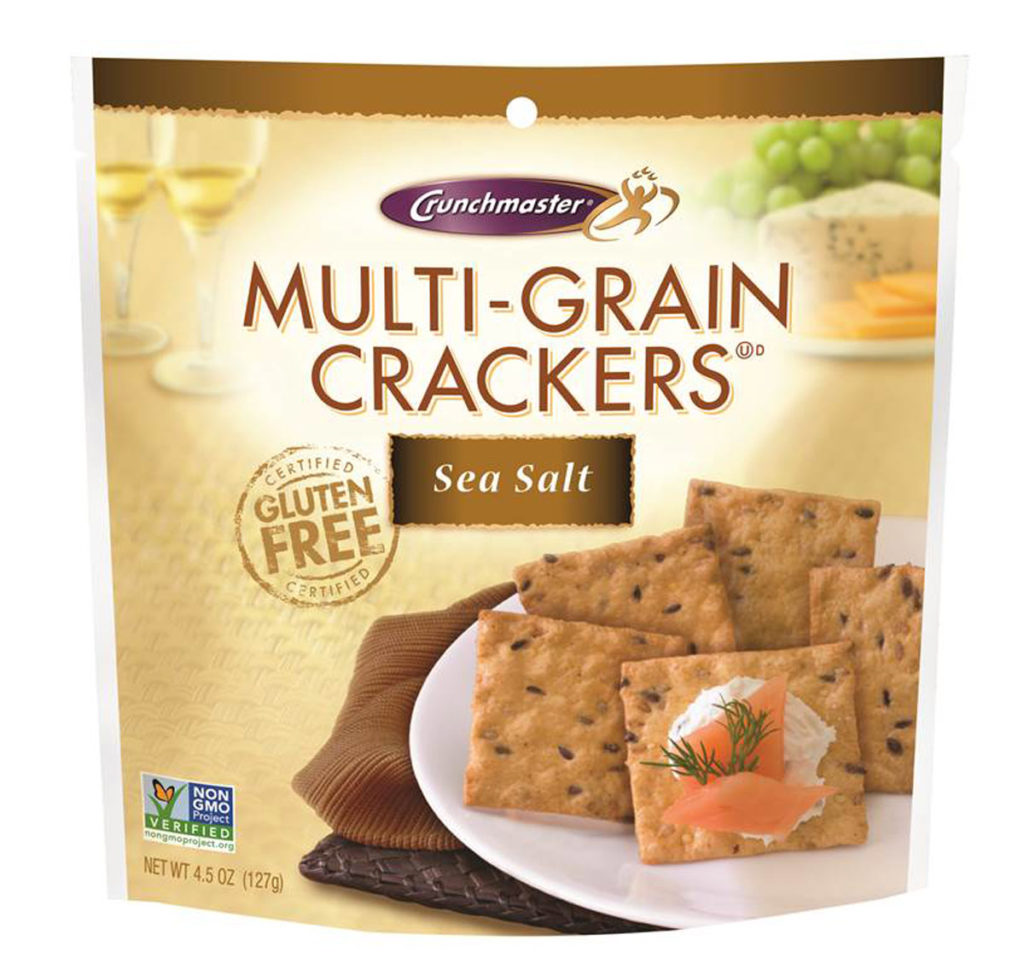 Product Review: Crunchmaster Multi-Grain Crackers Sea Salt