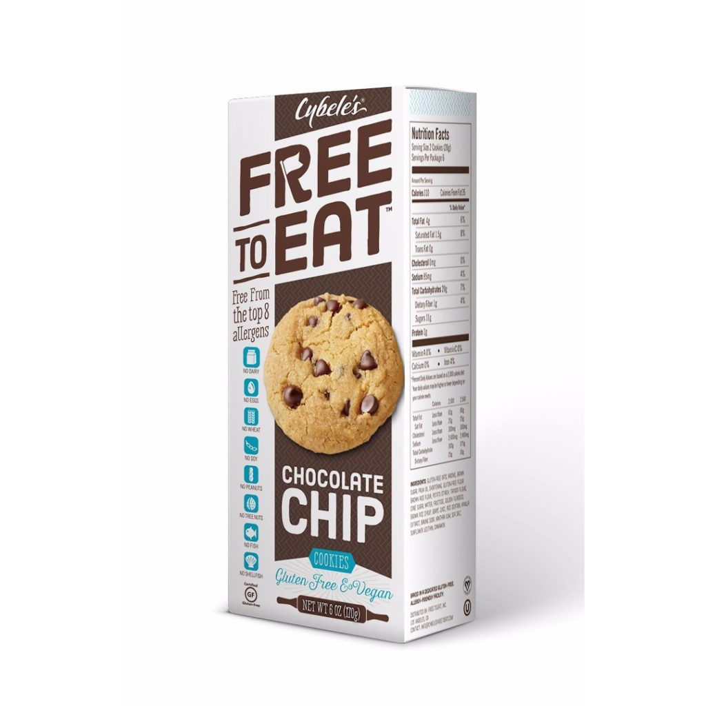 Product Review: Cybele's Free to Eat Chocolate Chip Cookies