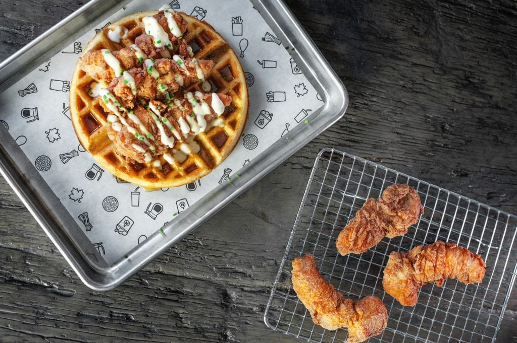 gluten free chicken and waffles in Toronto