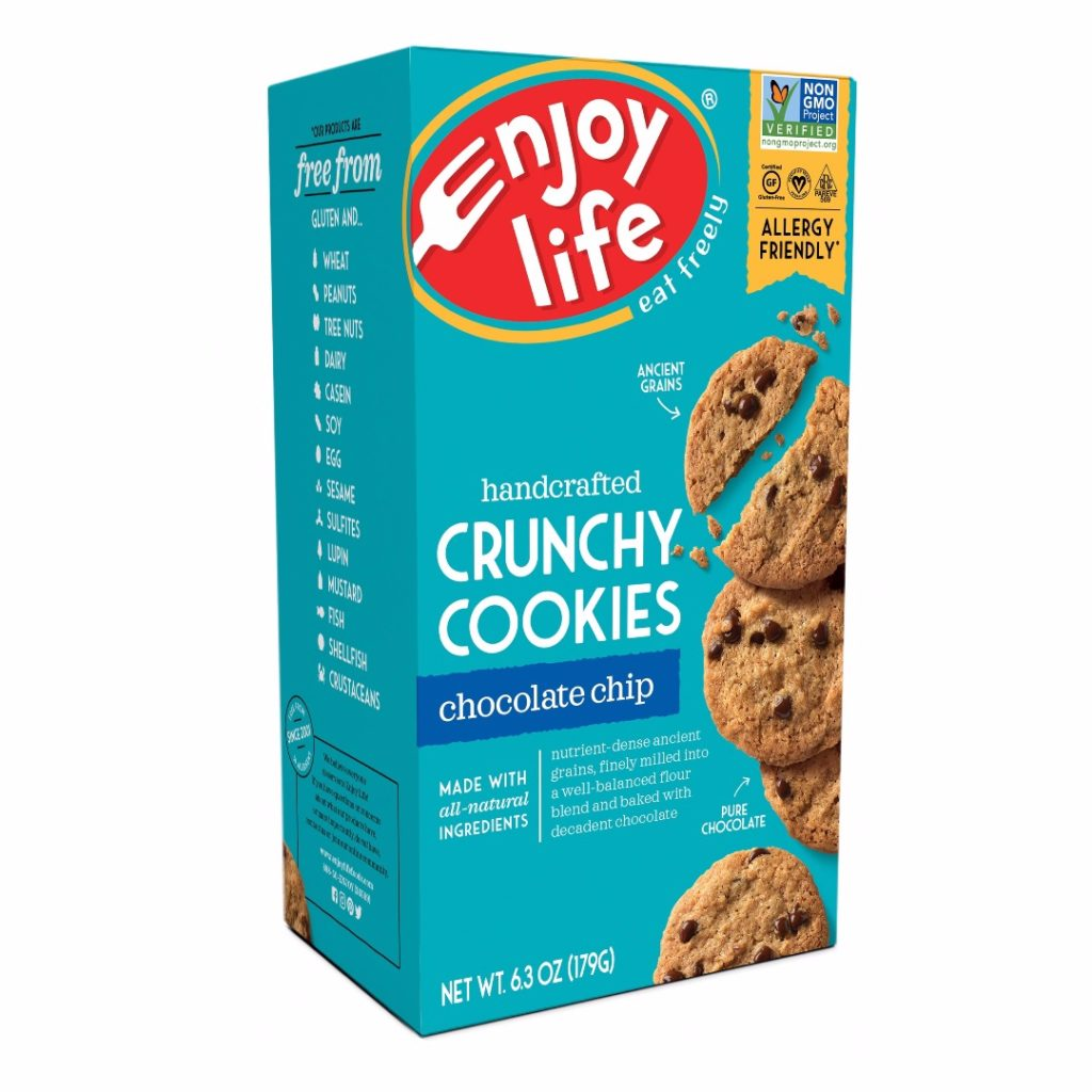 Product Review: Enjoy Life Handcrafted Chocolate Chip Crunchy Cookies