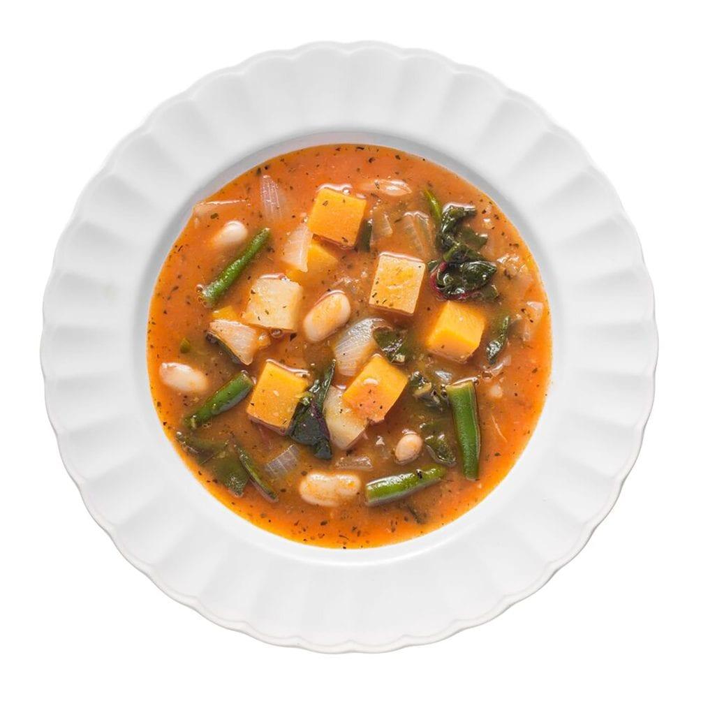 gluten free minestrone soup