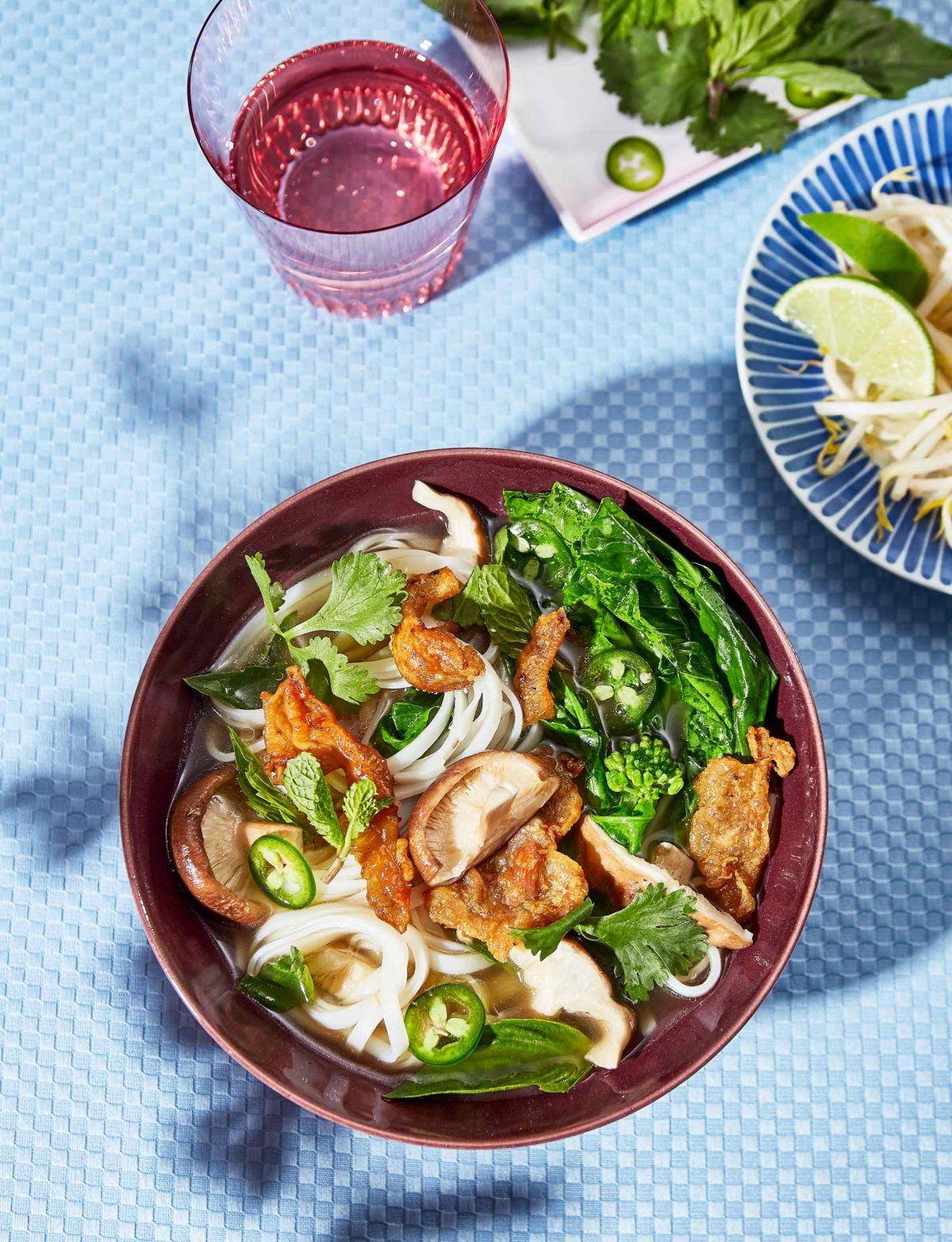 Gluten Free Faux Pho With Chicken Cracklings