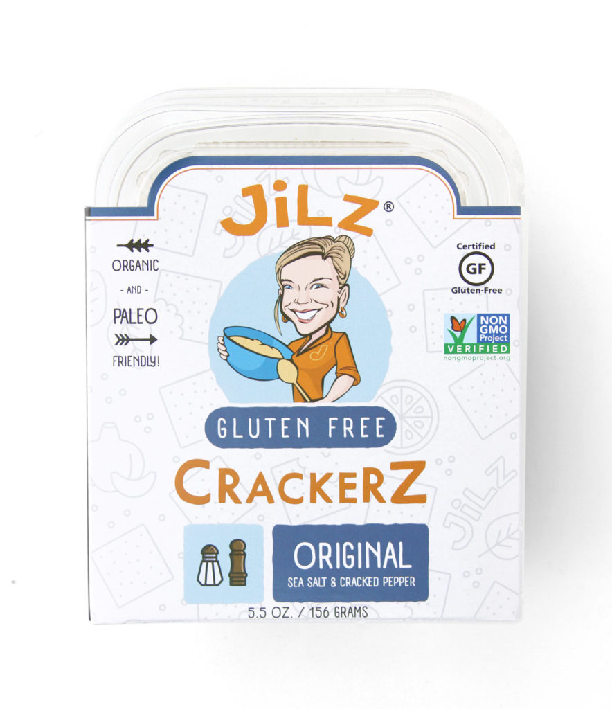 Product Review: Jilz Gluten Free Crackerz Original Sea Salt and Cracked Pepper