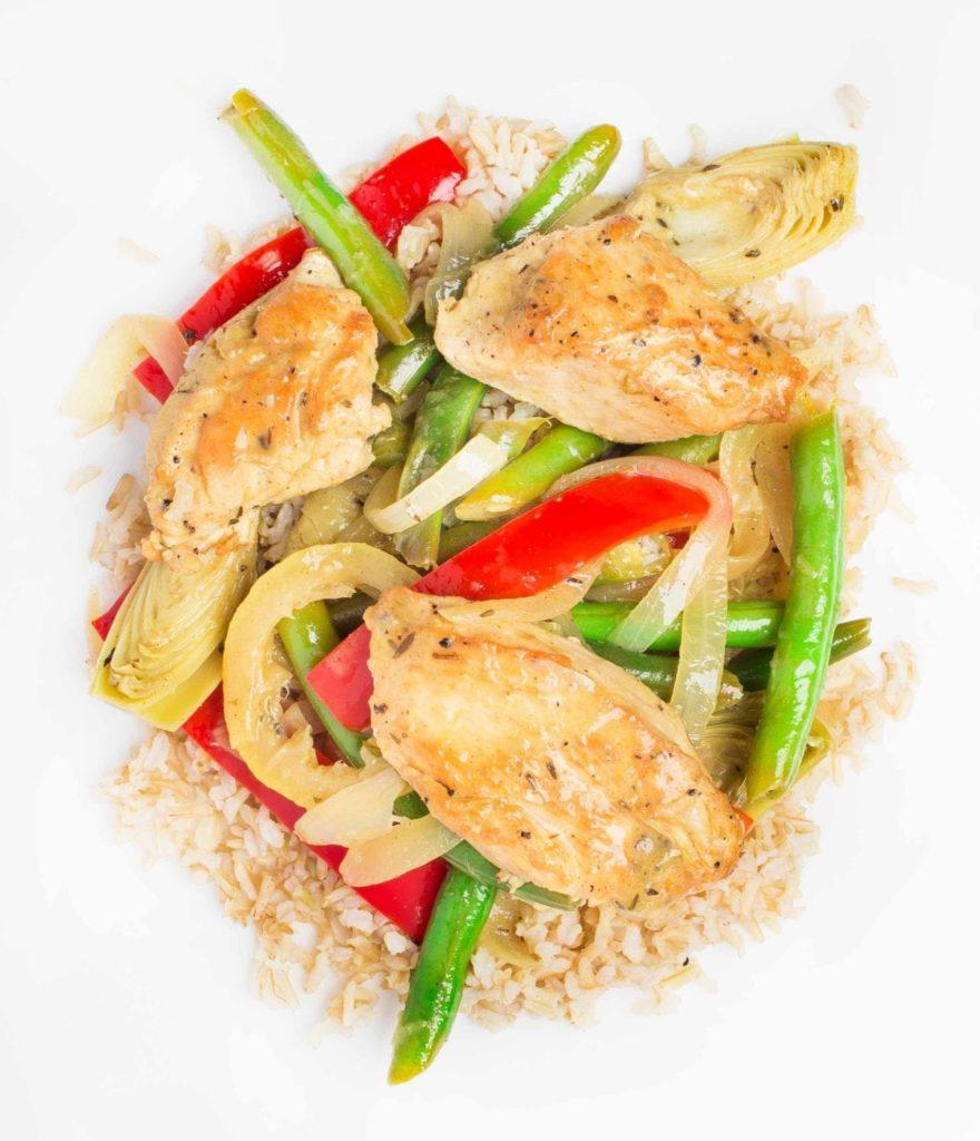 gluten free chicken meal
