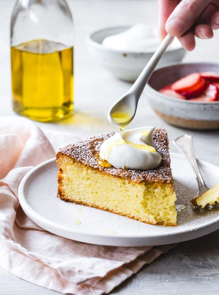 Gluten-Free Lemon Olive-Oil Cake