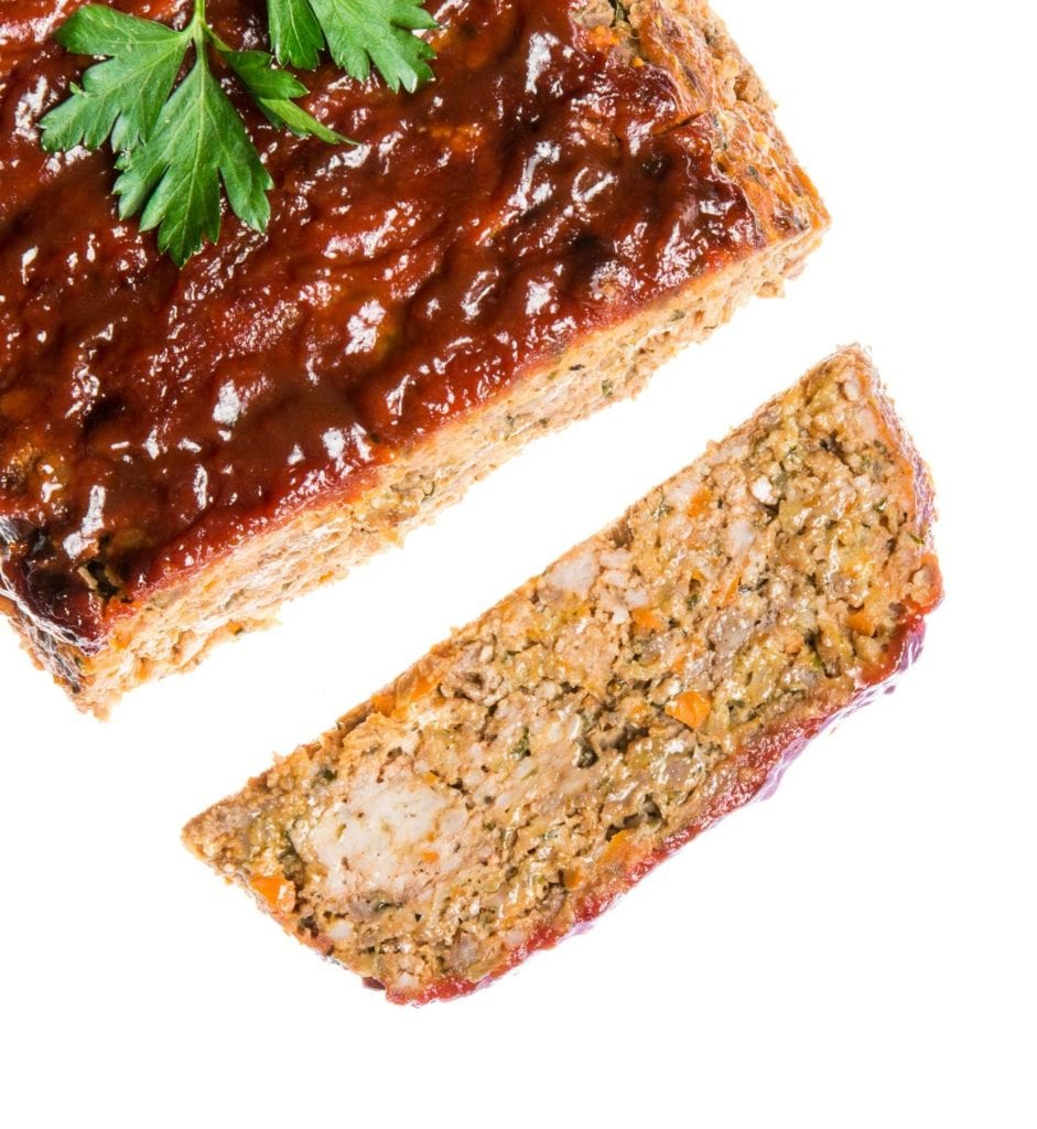 Gluten Free Meatloaf with Spicy Tomato Glaze