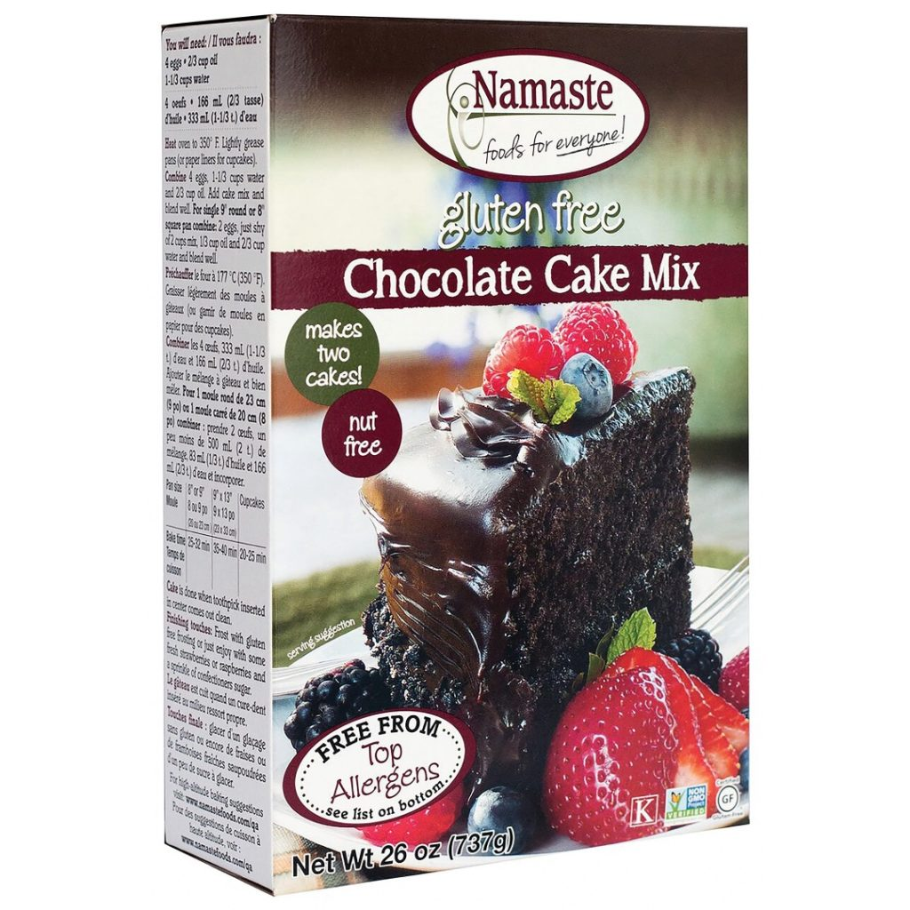 Product Review: Namaste Gluten Free, Vegan Chocolate Cake Mix