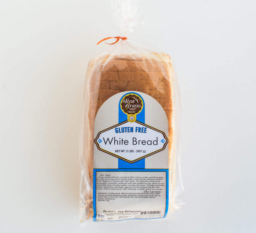Product Review: New Grains Gluten Free Bakery White Bread