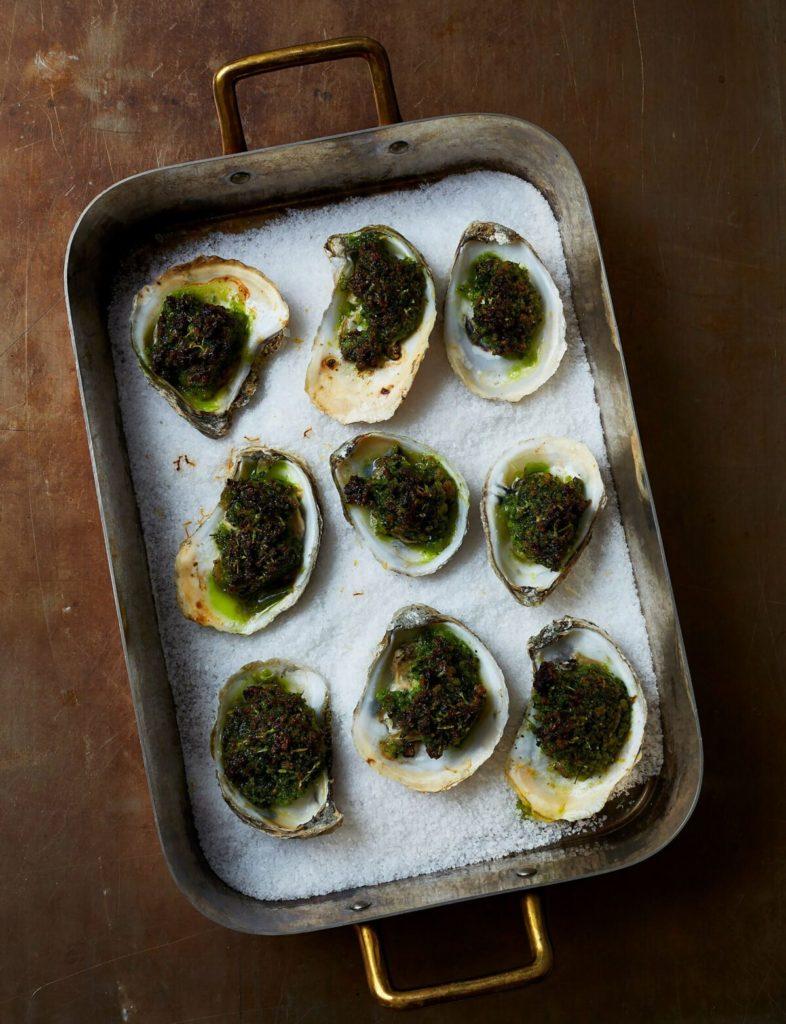 Gluten-Free Oysters Rockefeller