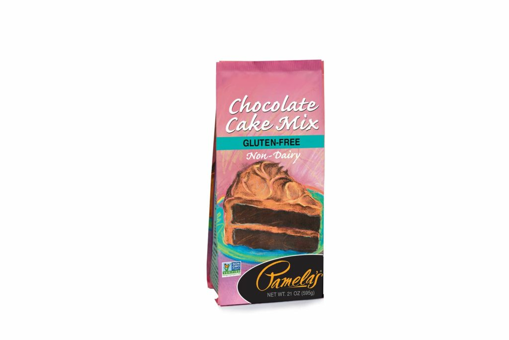 Product Review: Pamela's Chocolate Cake Mix Gluten-Free Non-Dairy