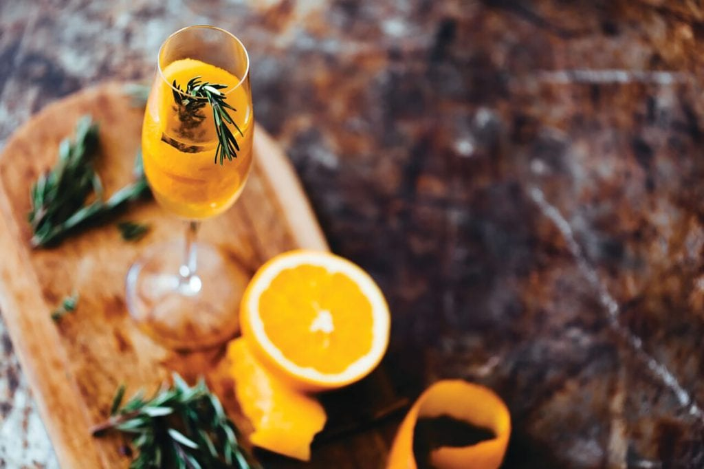 Pear-Rosemary Cocktail Gluten-Free Recipe