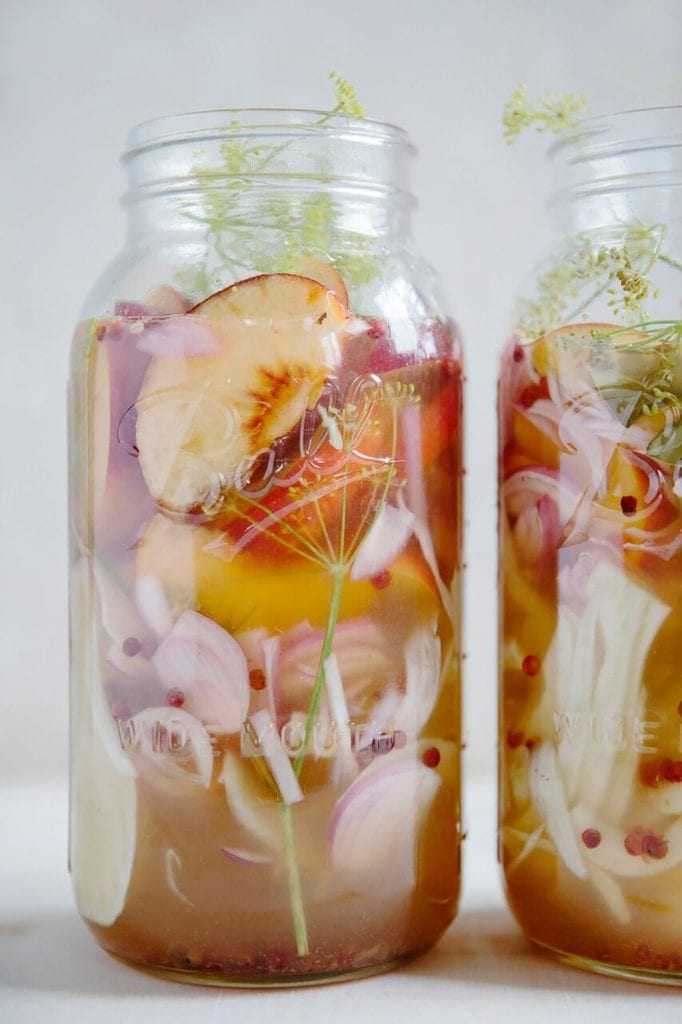Pickled Peaches and Fennel Recipe