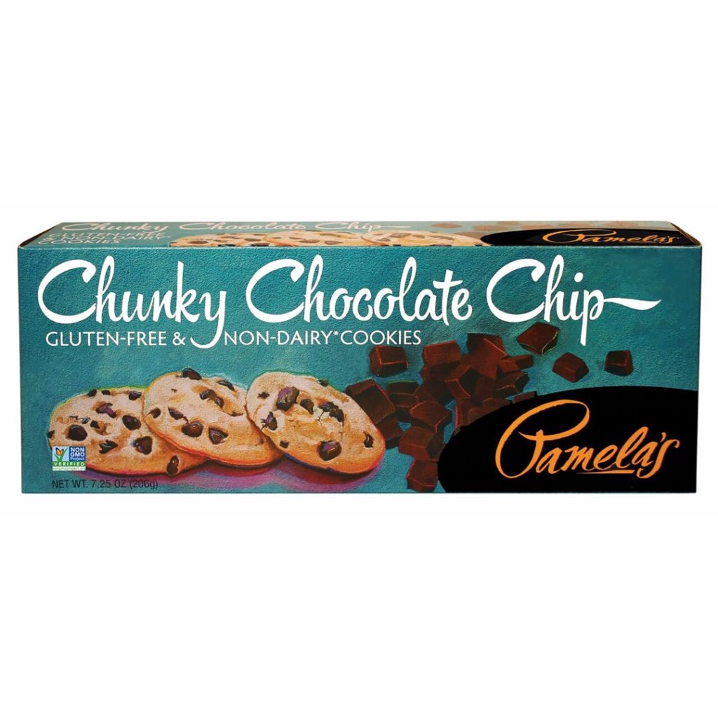 Pamela's Chunky Chocolate Chip Gluten-Free & Non-Dairy Cookies