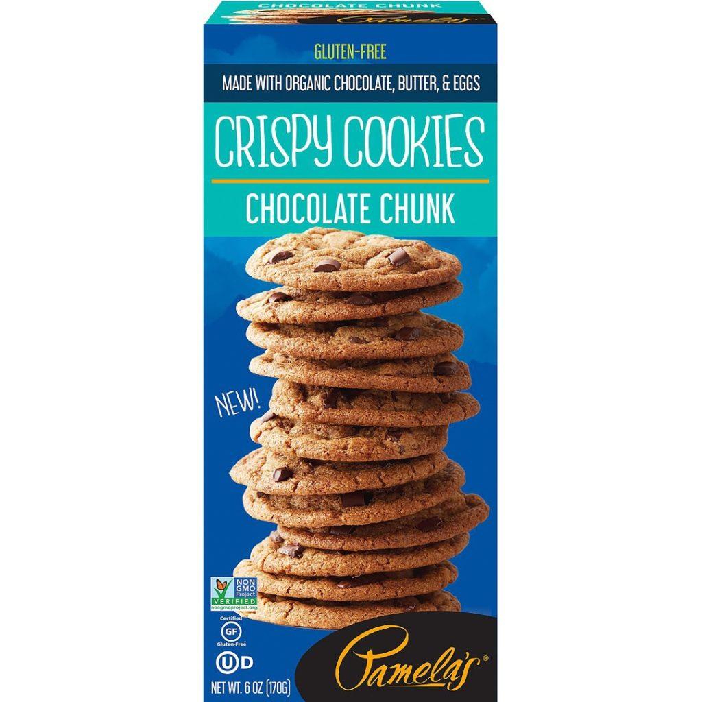 Product Review: Pamela's Chocolate Chunk Crispy Cookies