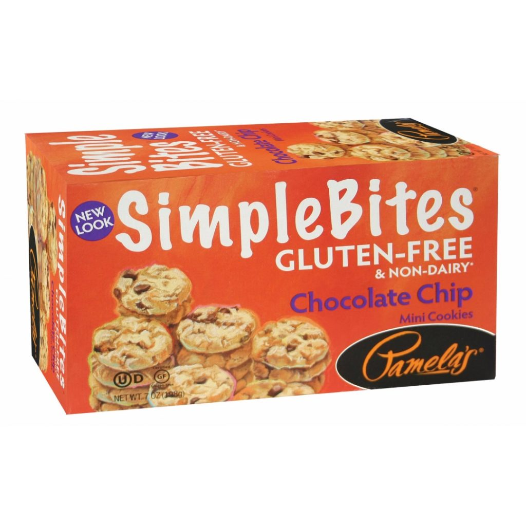 Product Review: Pamela's SimpleBites Gluten-Free & Non-Dairy Chocolate Chip Mini Cookies