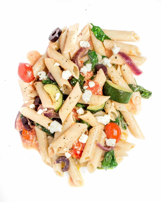 gluten free pasta meal