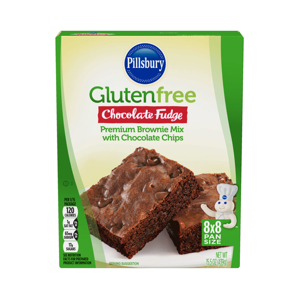 Product Review: Pillsbury Gluten Free Chocolate Fudge Premium Brownie Mix with Chocolate Chips