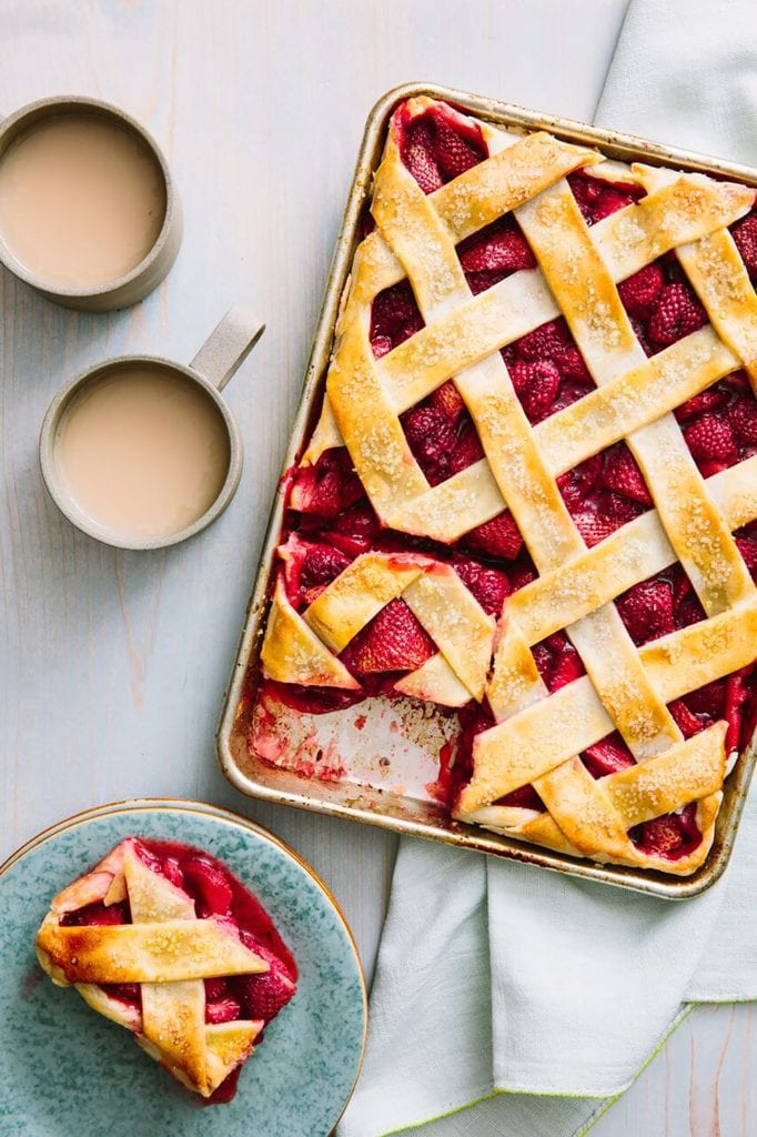 Red Berry and Lime Gluten Free Fruit Pie