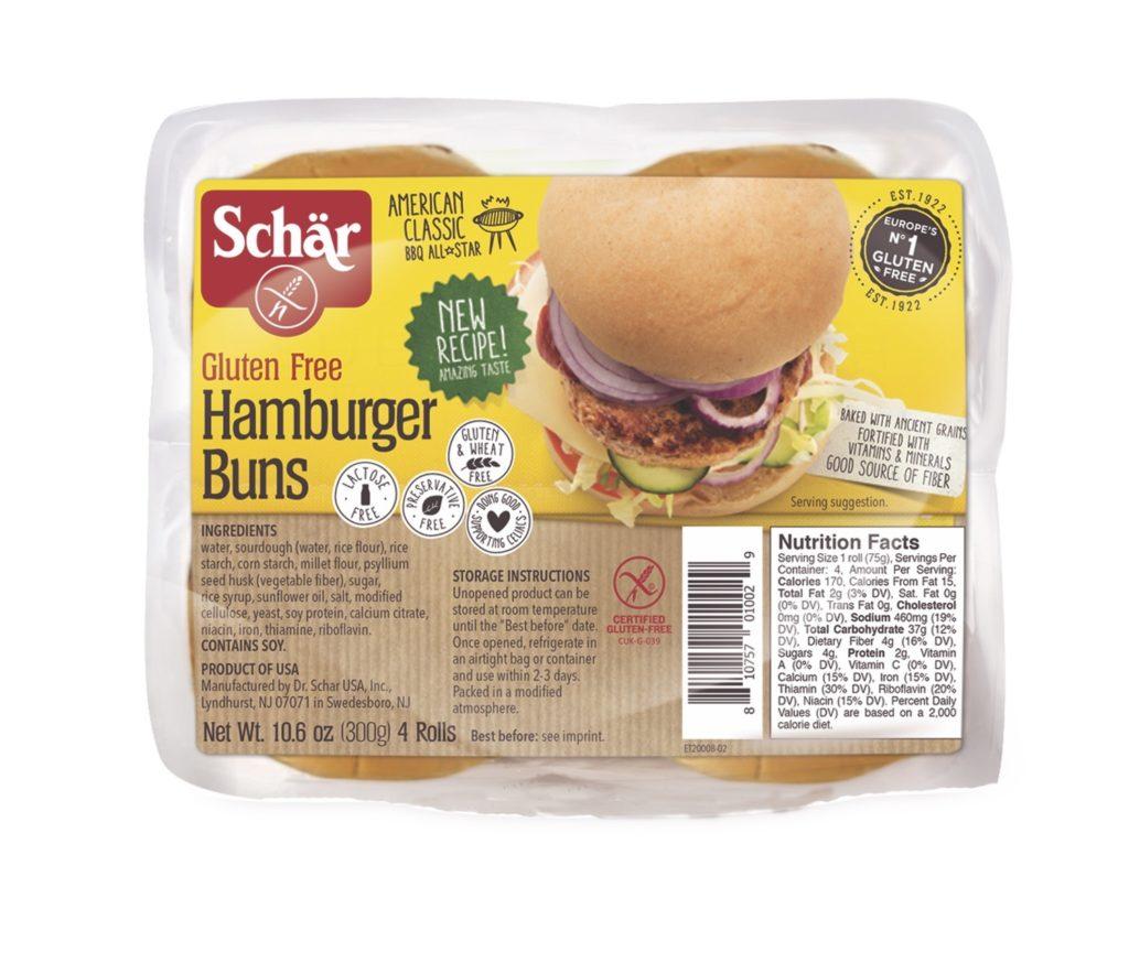 Product Review: Schär Hamburger Buns