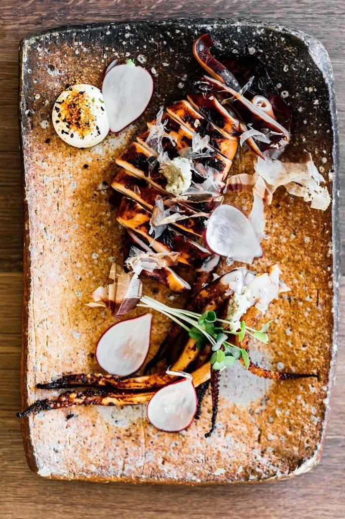 Seared Marinated Squid Gluten-Free Recipe