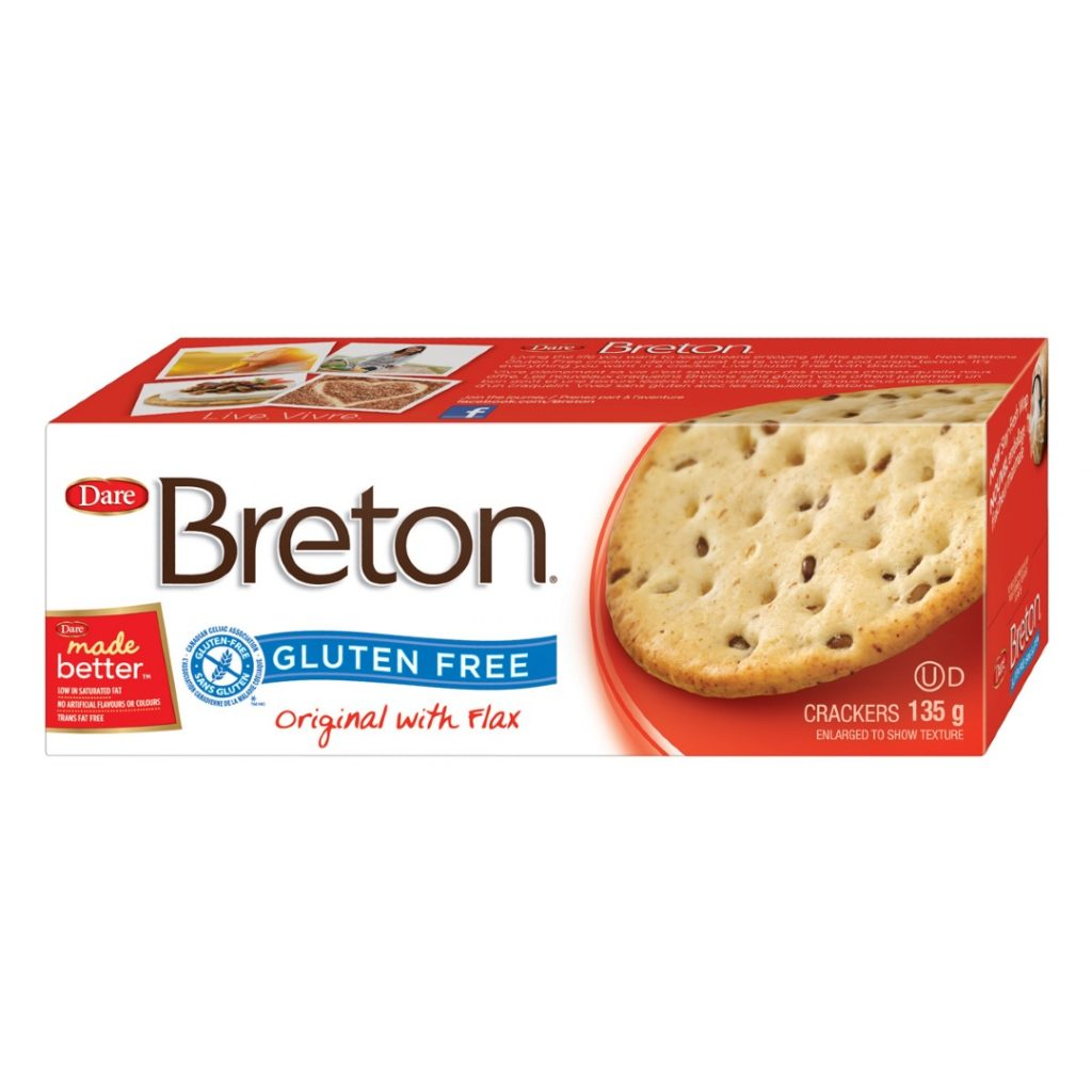 Product Review: Breton Gluten Free Original with Flax