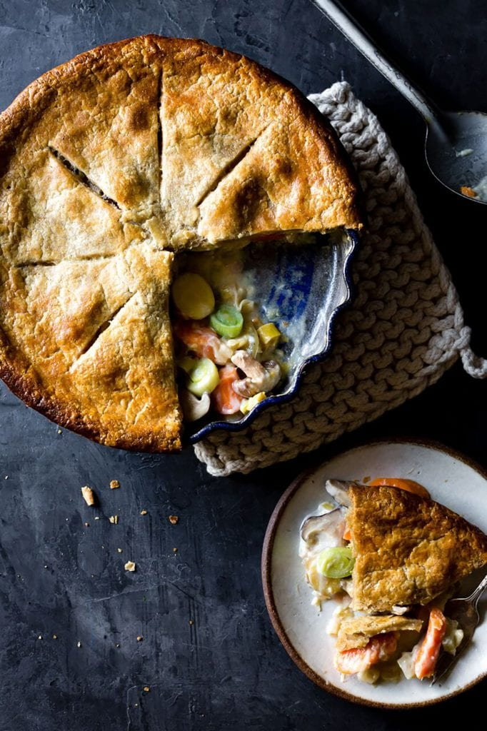 Gluten-Free Vegetable Potpie Recipe